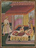 RAGINI LALIT OF RAGA  BHAIRAV -    - Classical Indian Art | Live Auction, Mumbai
