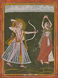 KAMADEV AND RATI -    - Classical Indian Art | Live Auction, Mumbai