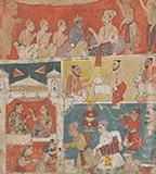 AN ILLUSTRATION TO THE RAMAYANA -    - Classical Indian Art | Live Auction, Mumbai