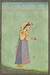 LADY WITH A YOYO - Classical Indian Art | Live Auction, Mumbai