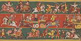 RUKHMINI HARAN: FOLIO FROM A DISPERSED BHAGWAT PURANA -    - Classical Indian Art | Live Auction, Mumbai