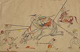 TAMING AN ELEPHANT -    - Classical Indian Art | Live Auction, Mumbai