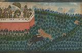 MAHARANA JAWAN SINGH ON A TIGER HUNT -    - Classical Indian Art | Live Auction, Mumbai