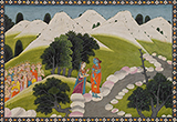 EMERGENCE OF KAUSHIKI -    - Classical Indian Art | Live Auction, Mumbai