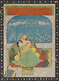 THE AMOROUS COUPLE -    - Classical Indian Art | Live Auction, Mumbai