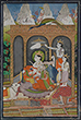 SHIVA WITH HIS FAMILY - Classical Indian Art | Live Auction, Mumbai