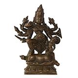 DURGA -    - Classical Indian Art | Live Auction, Mumbai
