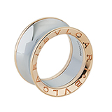 B.ZERO1 18 K PINK GOLD AND STEEL BAND BY ANISH KAPOOR FOR BVLGARI -    - Art and Collectibles Online Auction