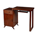 MID-CENTURY STYLE WRITING TABLE -    - Art and Collectibles Online Auction