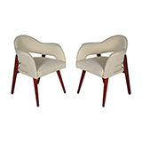 ART DECO OCCASIONAL CHAIRS -    - Art and Collectibles Online Auction