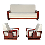 ART DECO SOFA SET -    - Art and Collectibles Online Auction
