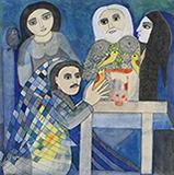 The Magician - Badri  Narayan - Evening Sale of Modern and Contemporary Indian Art