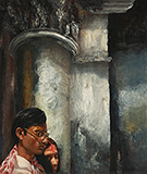 Untitled - Bikash  Bhattacharjee - Evening Sale of Modern and Contemporary Indian Art