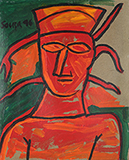 Untitled - F N Souza - Evening Sale of Modern and Contemporary Indian Art