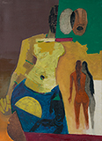 Arrival - M F Husain - Evening Sale of Modern and Contemporary Indian Art