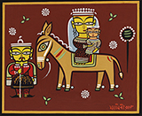 Untitled - Jamini  Roy - Evening Sale of Modern and Contemporary Indian Art