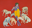 Manjit  Bawa - Evening Sale of Modern and Contemporary Indian Art