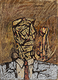 Untitled - M F Husain - Evening Sale of Modern and Contemporary Indian Art