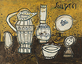 Still Life with Claret Jug - F N Souza - Evening Sale | New Delhi, Live
