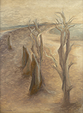 Stag-Antlered Trees - Jehangir  Sabavala - Evening Sale | New Delhi, Live