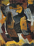 Untitled (Basket Weavers) - M F Husain - Evening Sale | New Delhi, Live