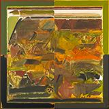 La Terre / The Earth (Green) - S H Raza - Evening Sale | New Delhi, Live