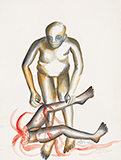 Cruelty to Woman - Bhupen  Khakhar - Summer Online Auction