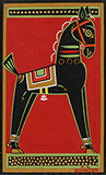 Untitled (Horse) - Jamini  Roy - Summer Online Auction