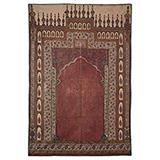 JAHNAMAZ PRAYER MAT -    - Woven Treasures: Textiles from the Jasleen Dhamija Collection