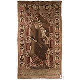 SHAH NAMA KALAMKARI -    - Woven Treasures: Textiles from the Jasleen Dhamija Collection