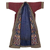 TURKOMAN EMBROIDERED COAT -    - Woven Treasures: Textiles from the Jasleen Dhamija Collection