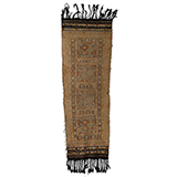RITUAL HEARTH RUG OF SHAHSAVANS -    - Woven Treasures: Textiles from the Jasleen Dhamija Collection
