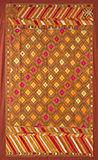 PHULKARI WITH CHOPE SURROUNDS -    - Woven Treasures: Textiles from the Jasleen Dhamija Collection
