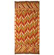 FIVE-COLOURED PANCHRANGA LEHARIYA BAGH - Woven Treasures: Textiles from the Jasleen Dhamija Collection