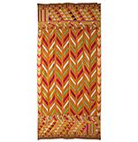 FIVE-COLOURED PANCHRANGA LEHARIYA BAGH -    - Woven Treasures: Textiles from the Jasleen Dhamija Collection