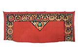 CEREMONIAL SOVIET TENT HANGING -    - Woven Treasures: Textiles from the Jasleen Dhamija Collection