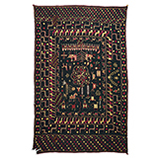 SAINCHI WITH CARAVAN OF CAMELS AND HORSES -    - Woven Treasures: Textiles from the Jasleen Dhamija Collection