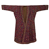 EMBROIDERED PASHMINA ROBE -    - Woven Treasures: Textiles from the Jasleen Dhamija Collection