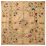CHAMBA RUMAL WITH  FLORAL PATTERN -    - Woven Treasures: Textiles from the Jasleen Dhamija Collection
