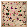 CHAMBA RUMAL WITH KRISHNA IN RASLILA - Woven Treasures: Textiles from the Jasleen Dhamija Collection