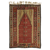 SUFI PRAYER RUG -    - Woven Treasures: Textiles from the Jasleen Dhamija Collection