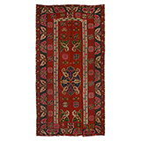 KILIM WITH MACEDONIAN INFLUENCE -    - Woven Treasures: Textiles from the Jasleen Dhamija Collection