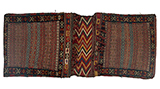 NOMADIC SADDLEBAG -    - Woven Treasures: Textiles from the Jasleen Dhamija Collection