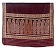 BALUCHARI SARI WITH FLORAL MOTIF - Woven Treasures: Textiles from the Jasleen Dhamija Collection