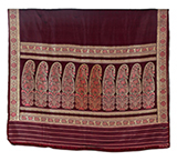 BALUCHARI SARI WITH FLORAL MOTIF -    - Woven Treasures: Textiles from the Jasleen Dhamija Collection