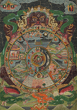 WHEEL OF LIFE -    - Asian Art