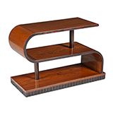 ART DECO CURVED COFFEE TABLE -    - The Design Sale
