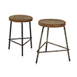 STOOL WITH TRIANGULAR BASE, PIERRE JEANNERET - The Design Sale