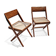 LIBRARY CHAIR, PIERRE JEANERRET - The Design Sale
