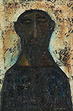 Head of a Saint - F N Souza - From Classical to Contemporary